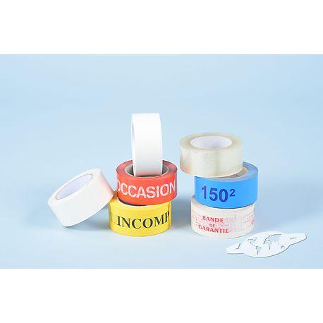 Rubans adhésifs PVC personnalisés